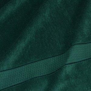 Полотенце гладкокрашенное темно-зеленый 460 г/м2